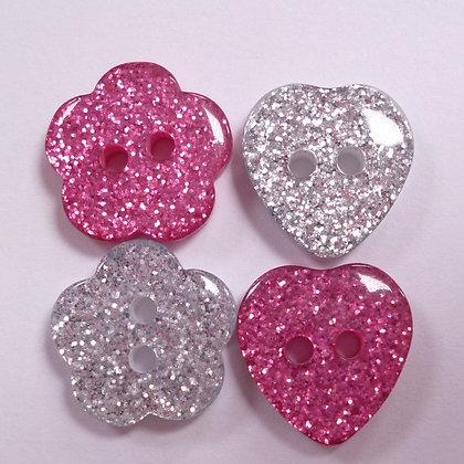 Glitter Buttons :: MEDIUM