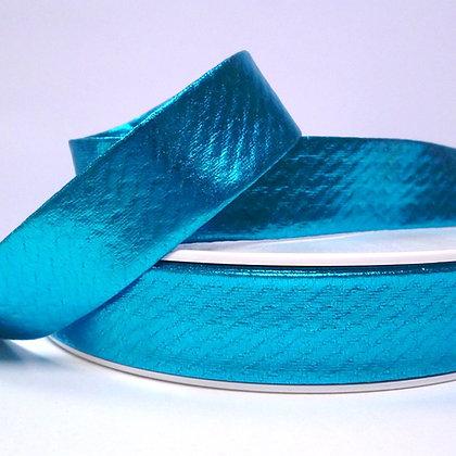 Metallic Bias Binding :: Blue