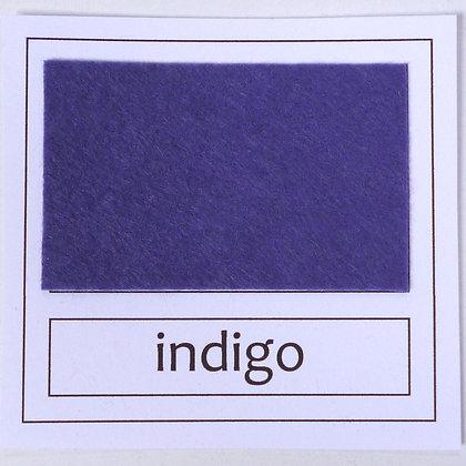 "Die Cut Pack :: 1"" circles :: Indigo"