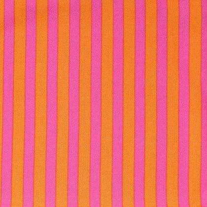 BOLT END SALE :: Clown Stripe Fuchsia & Orange :: 60cm