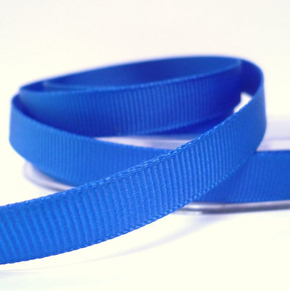 10mm grosgrain :: by the metre :: Royal Blue
