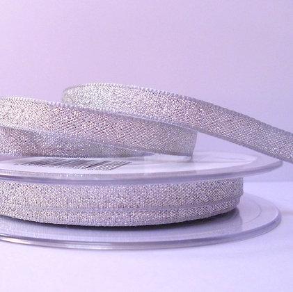 Lame Ribbon :: 7mm Silver