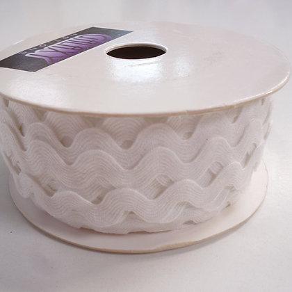 Cotton Feel Large Ric Rac ::White