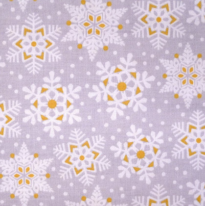 Fabric :: Snowflake Waltz :: Grey