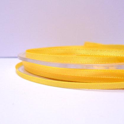 Yellow :: 3mm Mini Satin Ribbon :: 5m