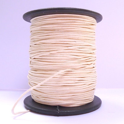 Faux Leather Cord :: Natural