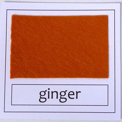 "Die Cut Pack :: 1"" circles :: Ginger"