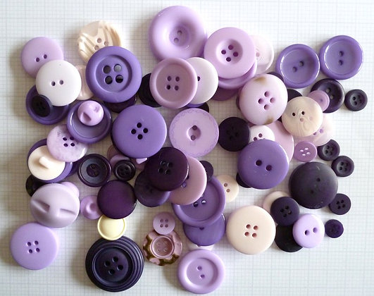 Buttons By Weight :: Purple