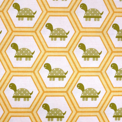 Fabric :: Fine & Dandy :: Yellow Tortoise