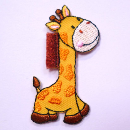 Embroidered Motif :: Safari :: Giraffe