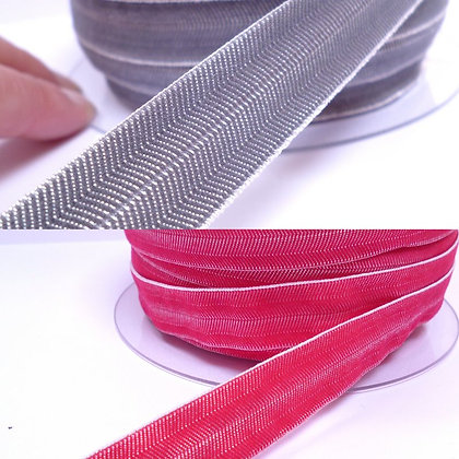 Flat Elastic :: Herringbone