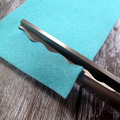 Scallop Scissors :: 9mm