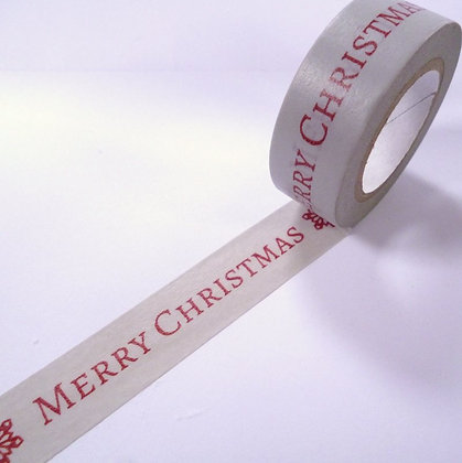 Washi Tape roll :: Merry Christmas