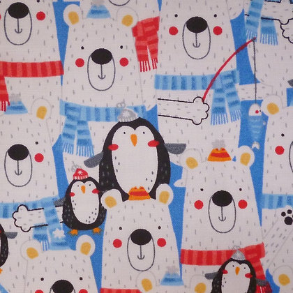 Fabric :: Polar Pals II :: Polar Bear