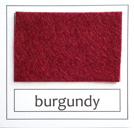 """Die Cut Pack :: 1"""" circles :: Burgundy"""