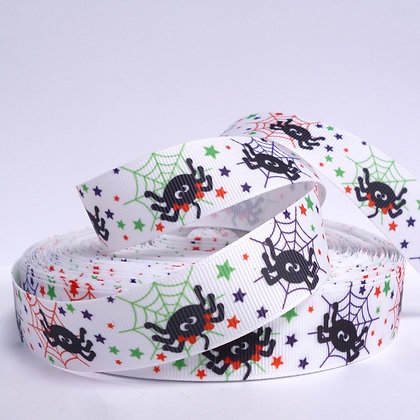 Halloween Grosgrain Ribbon :: Spiders