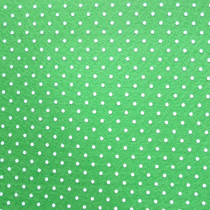 Polka Dot Felt Square :: APPLE