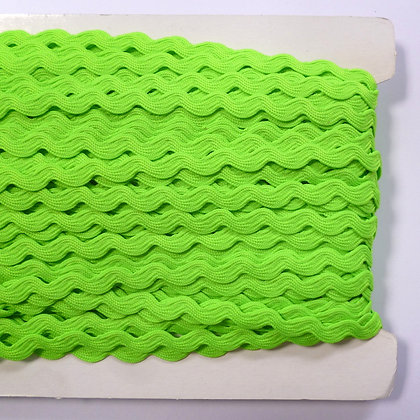 SALE Standard Size Ric Rac :: Neon Green