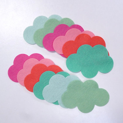 Die Cut Pack :: Clouds :: Cactus