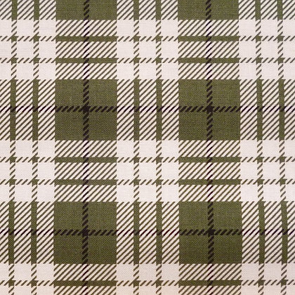 Fabric :: Winterberry :: Green Tartan
