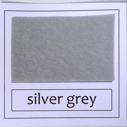 """Die Cut Pack :: 1"""" circles :: Silver Grey"""