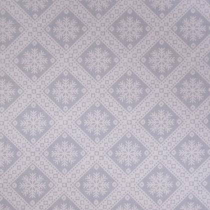 Fabric :: Winter Essentials :: Grey Snowflake