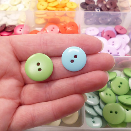 Dyed Pick & Mix Buttons :: Extra Large