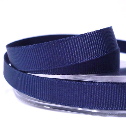 10mm grosgrain :: by the metre :: Midnight Blue