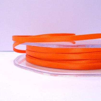 Orange :: 3mm Mini Satin Ribbon :: 5m
