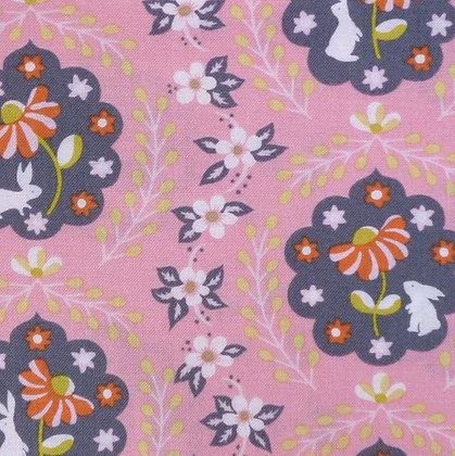 Fabric :: Born Wild :: Bunny Patch