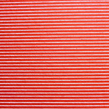 Stripe Felt Square :: RED