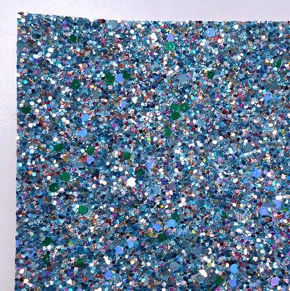 Chunky Glitter sheet :: Mixed :: Rock Pool