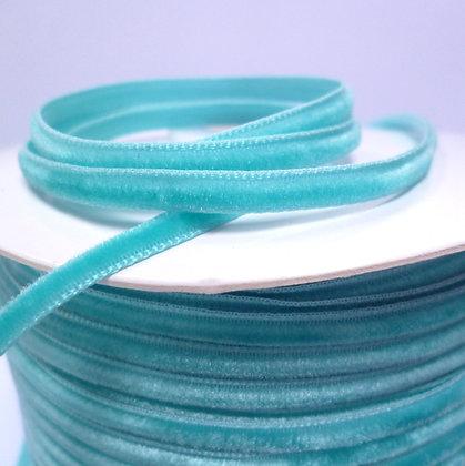 3mm Velvet Ribbon :: Turquoise