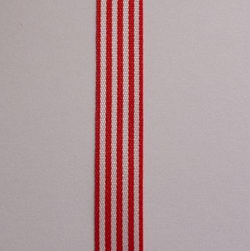 Pencil Stripe Ribbon :: Red