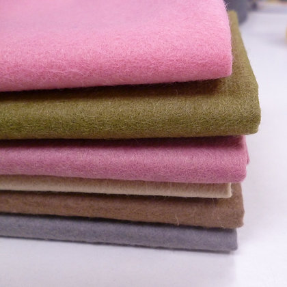 Premium Wool Felt Colour Pack :: Foxglove II