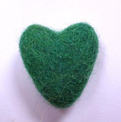 Felt Hearts 100% Wool :: Forest