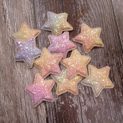 Padded Star :: Pastel Rainbow :: Small
