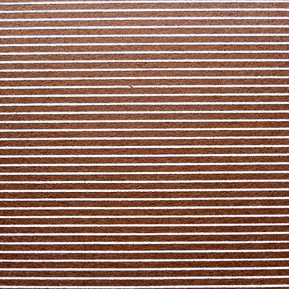 Stripe Felt Square :: BROWN