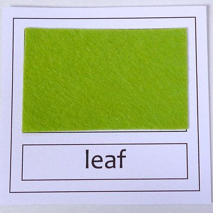 """Die Cut Pack :: 1"""" circles :: Leaf"""