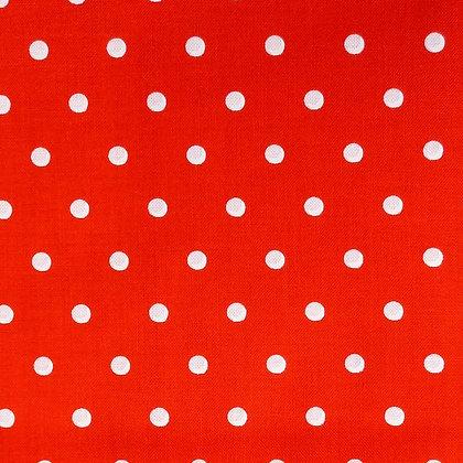 Fabric :: Tea Dot Red