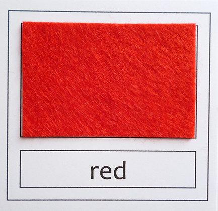 """Die Cut Pack :: 1"""" circles :: Red"""