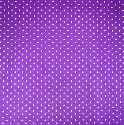 Polka Dot Felt Square :: DARK PURPLE
