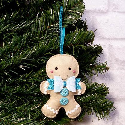 Mr Gingerbread (Bright) Christmas Decoration Kit