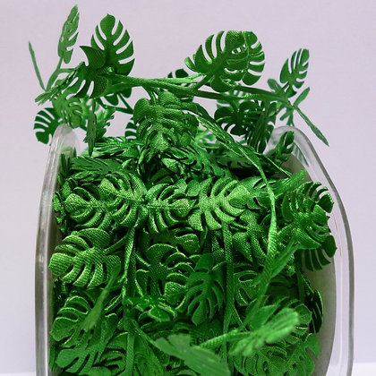 Cut Out Ribbon :: Tropical Leaves (by half m)