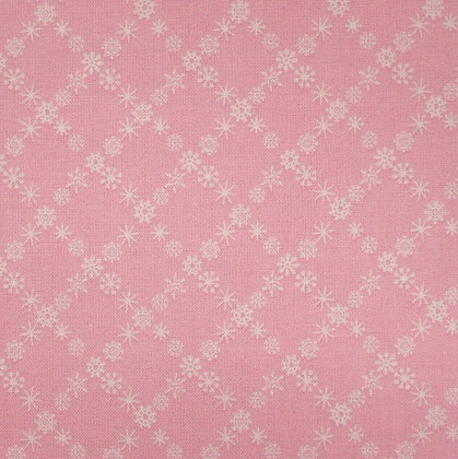 Fabric :: A Winter Tale :: Snowflakes Pink
