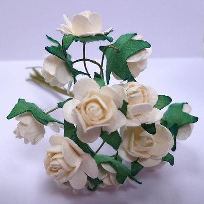 Paper Roses :: White