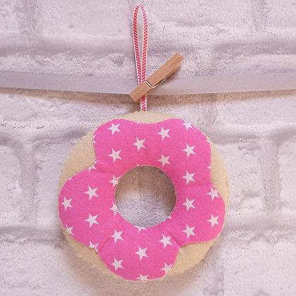 Handmade :: Doughnut :: Fabric Star Sprinkles