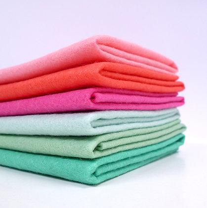 Premium Wool Felt Colour Pack :: Cactus