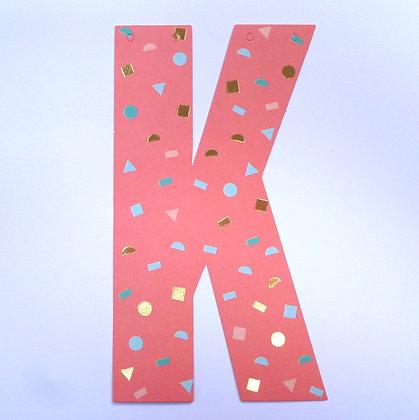 Make A Garland :: Letter :: K