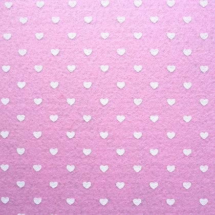 Heart Felt Square :: PALE PINK
